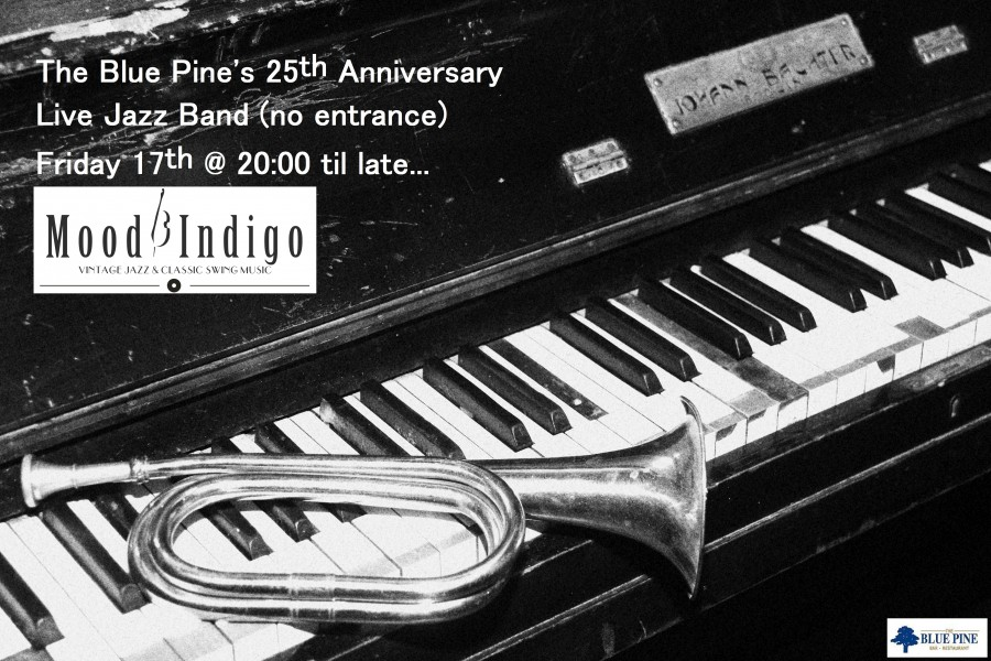!!!25 YEARS….THE BLUE PINE BAR/RESTAURANT!!!